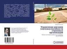 Bookcover of Управление рисками платежеспособности страховых организаций