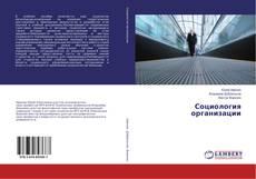 Bookcover of Социология организации