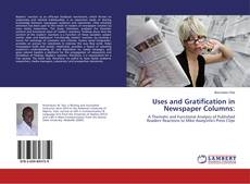 Bookcover of Uses and Gratification in Newspaper Columns: