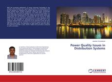 Bookcover of Power Quality Issues in Distribution Systems