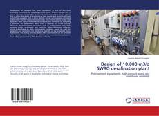 Bookcover of Design of 10,000 m3/d SWRO desalination plant
