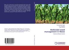 Bookcover of Herbicidal weed management in Maize