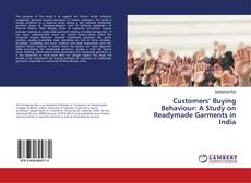 Bookcover of Customers' Buying Behaviour: A Study on Readymade Garments in India