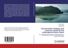 Buchcover von Conservation biology and research needs of the endangered Kaiser Newt