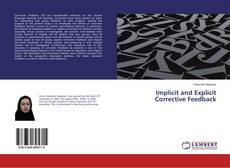 Portada del libro de Implicit and Explicit Corrective Feedback