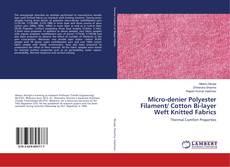 Обложка Micro-denier Polyester Filament/ Cotton Bi-layer Weft Knitted Fabrics