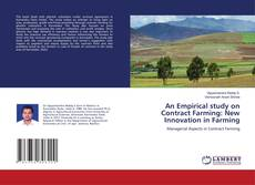 Capa do livro de An Empirical study on Contract Farming: New Innovation in Farming