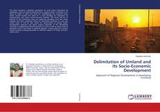 Buchcover von Delimitation of Umland and Its Socio-Economic Development