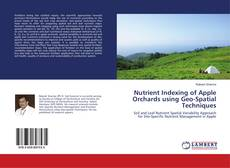 Copertina di Nutrient Indexing of Apple Orchards using Geo-Spatial Techniques