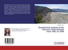 Bookcover of Geotechnical analysis of the Pournari I dam (Greece) from 1981 to 1988