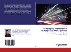 Capa do livro de Technological Proliferation in Hospitality Management