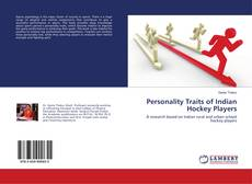Personality Traits of Indian Hockey Players kitap kapağı
