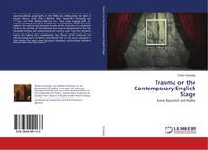 Capa do livro de Trauma on the Contemporary English Stage