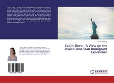 Bookcover of Call it Sleep - A View on the Jewish-American Immigrant Experience