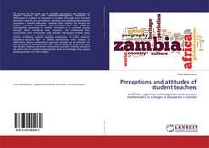 Buchcover von Perceptions and attitudes of student teachers