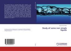Bookcover of Study of some non simple liquids