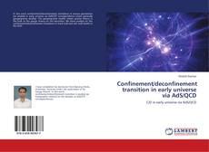 Couverture de Confinement/deconfinement transition in early universe via AdS/QCD
