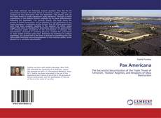 Portada del libro de Pax Americana