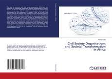Capa do livro de Civil Society Organisations and Societal Transformation in Africa