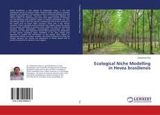 Portada del libro de Ecological Niche Modelling in Hevea brasiliensis