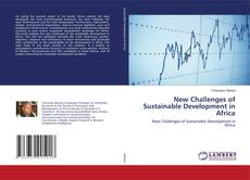 Capa do livro de New Challenges of Sustainable Development in Africa