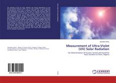 Обложка Measurement of Ultra-Violet (UV) Solar Radiation