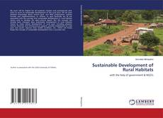 Buchcover von Sustainable Development of Rural Habitats