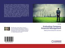 Buchcover von Evaluating Company Financial Management