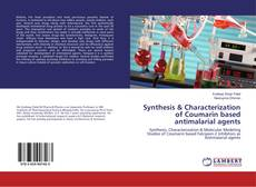 Capa do livro de Synthesis & Characterization of Coumarin based antimalarial agents