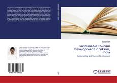 Capa do livro de Sustainable Tourism Development in Sikkim, India