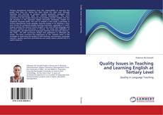 Quality Issues in Teaching and Learning English at Tertiary Level的封面