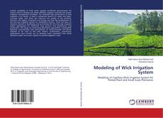 Bookcover of Modeling of Wick Irrigation System