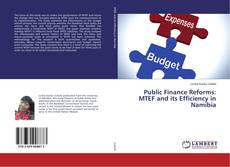Bookcover of Public Finance Reforms: MTEF and its Efficiency in Namibia