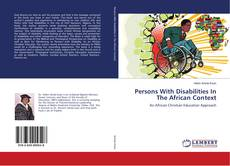 Copertina di Persons With Disabilities In The African Context