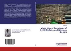Portada del libro de Mixed Ligand Complexes of 1,1-Dithiolates and Nitrogen Donors