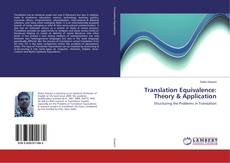 Buchcover von Translation Equivalence: Theory & Application