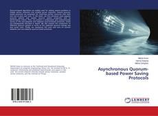 Portada del libro de Asynchronous Quorum-based Power Saving Protocols