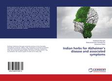 Bookcover of Indian herbs for Alzheimer's disease and associated symptoms