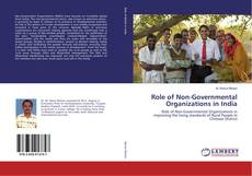 Bookcover of Role of Non-Governmental Organizations in India