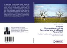 Bookcover of Climate Change,Communities Perception and Livelihood Adaptation