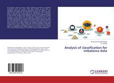 Bookcover of Analysis of classification for imbalance data
