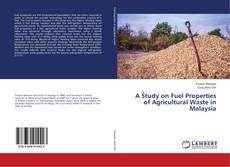 Bookcover of A Study on Fuel Properties of Agricultural Waste in Malaysia