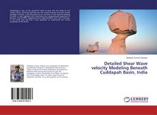 Bookcover of Detailed Shear Wave velocity Modeling Beneath Cuddapah Basin, India