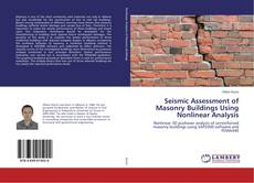 Copertina di Seismic Assessment of Masonry Buildings Using Nonlinear Analysis