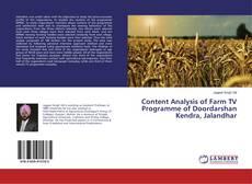 Buchcover von Content Analysis of Farm TV Programme of Doordarshan Kendra, Jalandhar