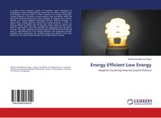 Bookcover of Energy Efficient Low Energy