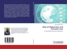 Buchcover von Role of Diplomatic and Consular Law