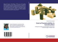 Bookcover of Cost of Sustainability in Constrcution