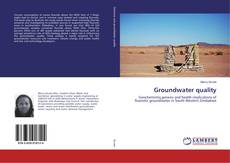 Bookcover of Groundwater quality