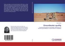Обложка Groundwater quality